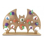 3mm Bat Lolly Pop Holder on a Stand