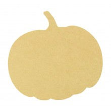 18mm MDF Freestanding Plain Pumpkin