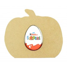 18mm Freestanding Halloween Kinder Egg Holder - Pumpkin