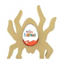 18mm Freestanding Halloween Kinder Egg Holder - Spider