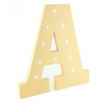 18mm Freestanding MDF Budget Letter Lights