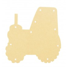 18mm Freestanding MDF Budget Light - Tractor Shape