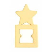 Laser Cut Star Light Switch Surround