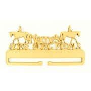 Laser Cut Personalised Large Horse Riding Medals Holder
