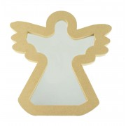 18mm Freestanding MDF Angel Shape Mirror - Size Options
