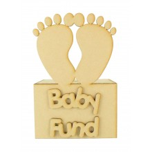 Laser Cut 'Baby Fund' Money Box