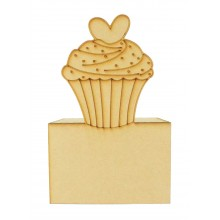 Laser Cut Cupcake Money Box