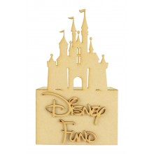 Laser Cut 'Disney Fund' Money Box