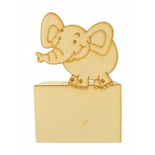 Laser Cut Elephant Money Box