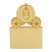 Laser Cut Princess Carriage Money Box