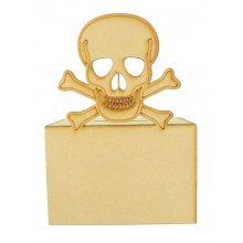 Laser Cut Skull Money Box