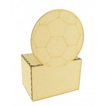 Laser cut Football Money Box