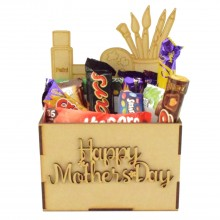Laser Cut Mothers Day Hamper Treat Boxes - Crafting