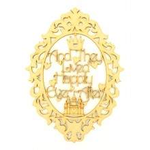 Laser Cut 'And They Lived Happily Ever After' Fairytale Framed Quote