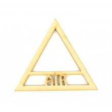 Laser Cut Air Elements Symbol Shape