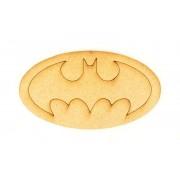 Laser Cut Etched Batman Logo Shape