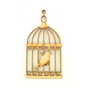 Laser Cut Bird Cage Shape