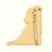 Laser Cut Wedding Couple - First Dance Shape