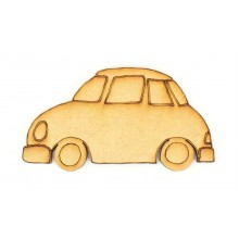 Laser Cut Car Shape