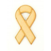 Laser Cut Cancer Ribbon - Charity Ribbon Shape