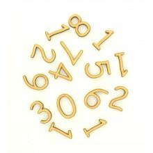 Laser Cut 3D Clock Numbers 1-12