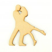 Laser Cut Couple Dancing Shape