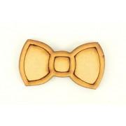 Laser Cut 3D Rabbit Bow - Pack of 4