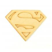 Laser Cut Superhero Logo Shape