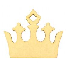 Laser Cut Princess Crown Shape