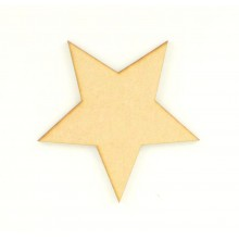 Laser Cut Star Shape