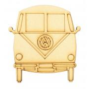Laser Cut VW Camper Van Shape - Front View