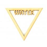 Laser Cut Water Elements Symbol Shape