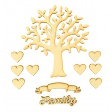 Laser Cut Bargain Box Frame Tree Kit - Set 10