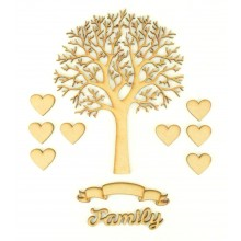 Laser Cut Bargain Box Frame Tree Kit - Set 8