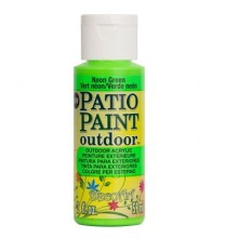DecoArt Patio Paint - Neon Green 2oz