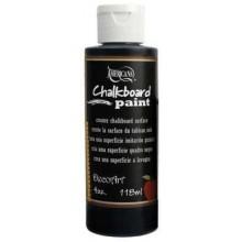 Americana Black Chalkboard Paint 4oz