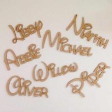 Laser Cut Personalised Disney Font Name - 3mm