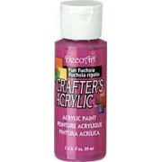Acrylic (Crafters Acrylic) Fun Fuchsia Crafters Acylic