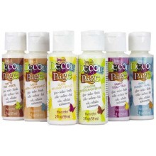 Americana Decou-Page Variety Pack of 6 - 2oz bottles.