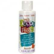 Decoupage Sealer/Glue Gloss 4OZ