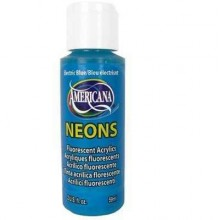 Electric Blue Amer Neon 2oz Craft Paints
