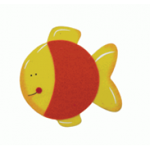 Crafty Common Creatures - Goldfish - Painted wooden Animals with felt detail.