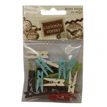 Dovecraft Curiosity Corner Mini Pegs