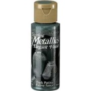 Dark Patina DecoArt Metallic Paint 2oz